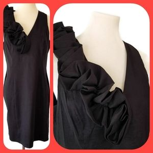 S.L. Fashion Size 14 Black LBD Cocktail Dress